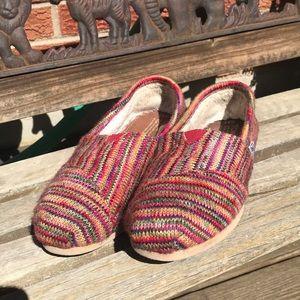 Toms knit shoes